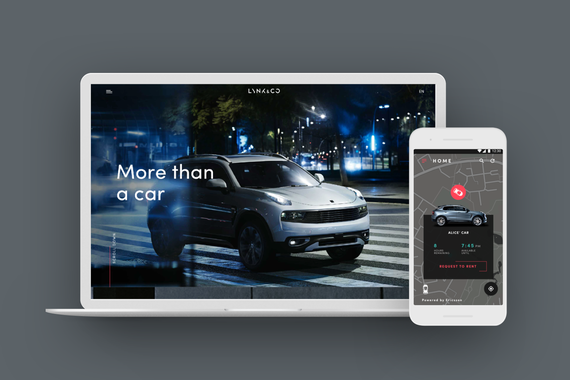 Lynk & Co (native app + website)