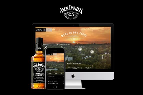 Jack Daniel's | Responsive Website