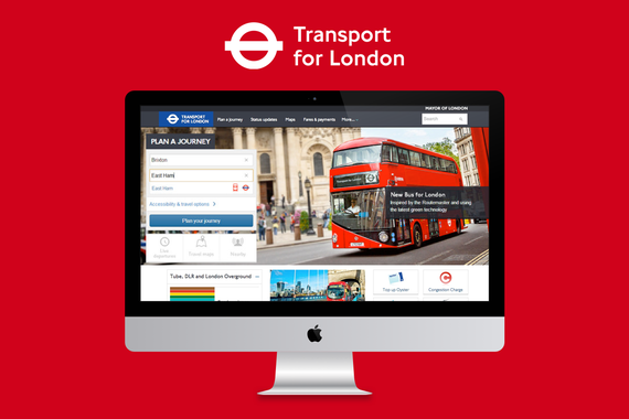 Transport for London | Journey Planner Responsive Website