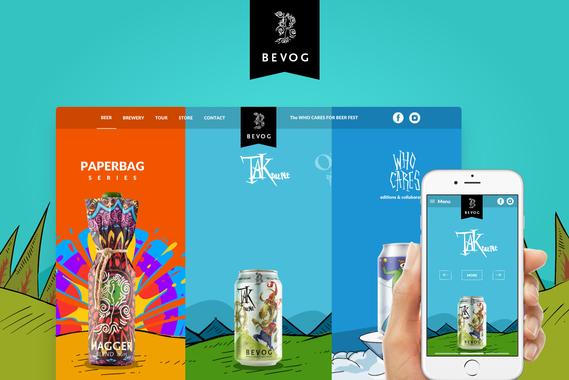 Bevog Brewery Website