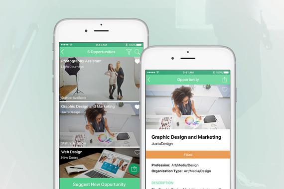 ImBlaze | UX/UI Design for the iOS App