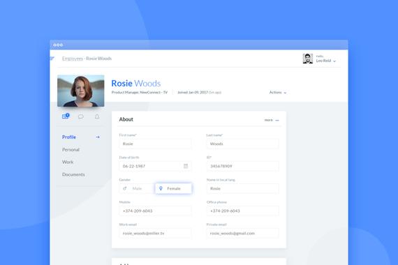 HR desktop app