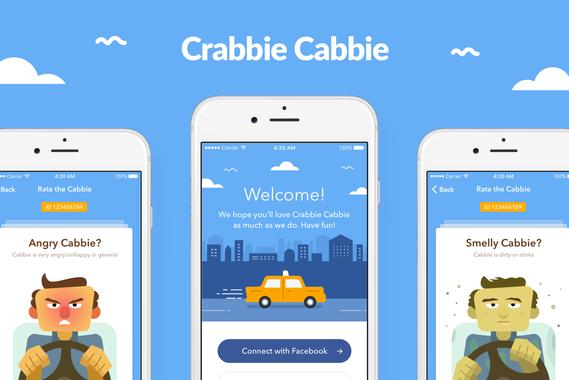Crabbie Cabbie App