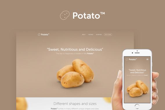 Potato Landing Page
