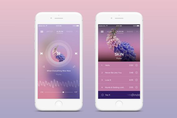 La Musica - iOS App Concept
