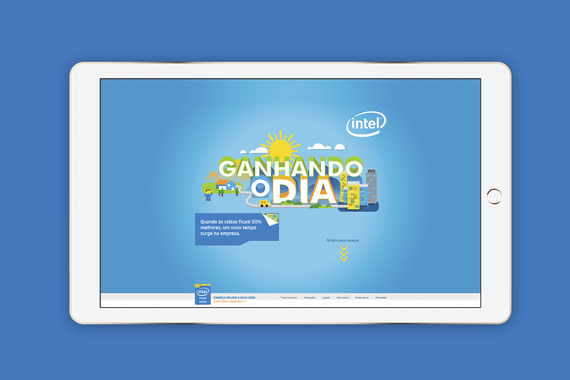 Intel® Xeon® | Story-driven Website