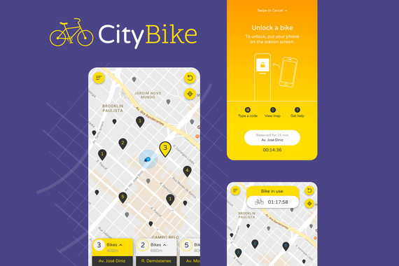 Bike Renting App UI/UX