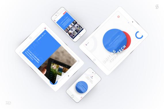 Branding and marketing website