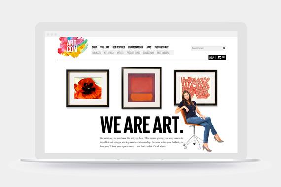Art.com Rebrand