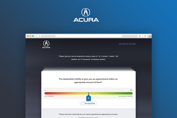 Acura Survey Design and Analytics Tool