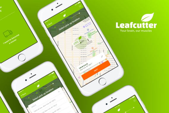 Leaf Cutter | Moving App for iOS