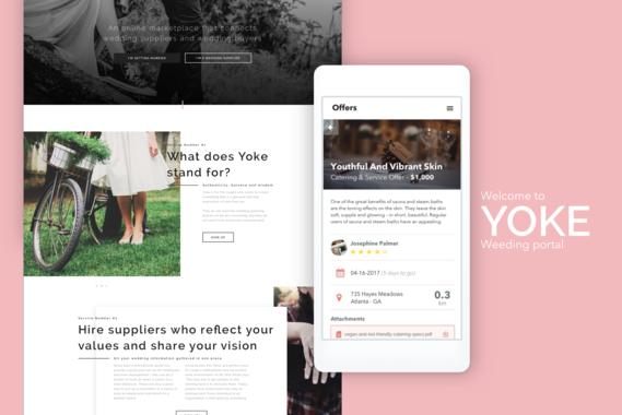 Yoke | Wedding Services Portal