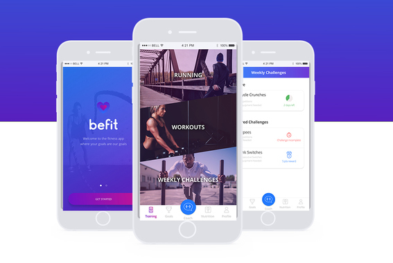 Befit | Fitness iOS App