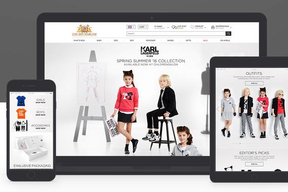 Karl Lagerfeld Kids | Landing Page