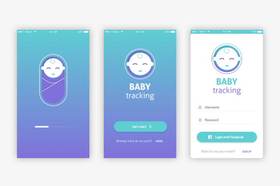 Baby Tracking App
