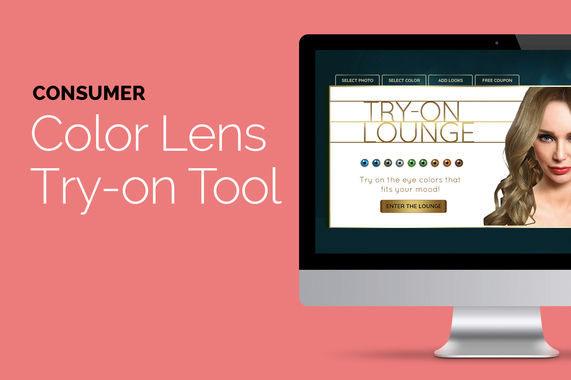 Color Lens Try-on Tool