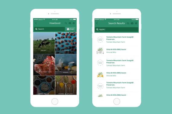 HowGood Mobile App
