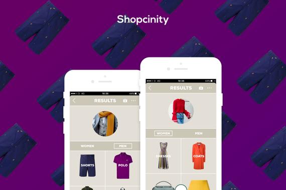 Shopcinity  Mobile App