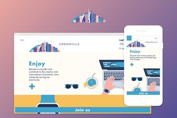 Crowdville Web App