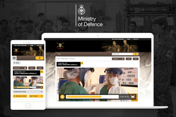 Award-winning E-Learning Solution for the Ministry of Defense