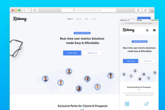 Rideway - Website Design