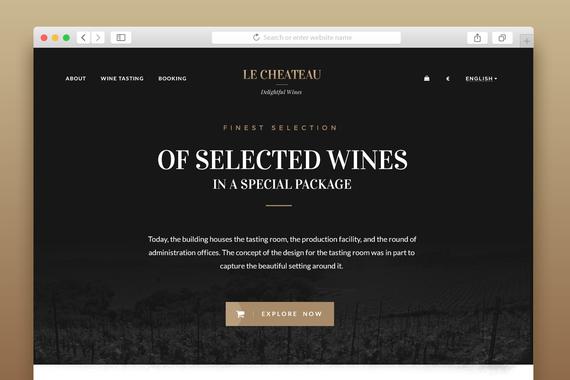 Le Chateau - Website