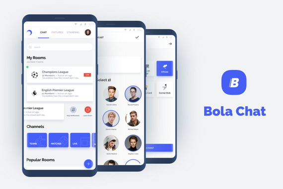 Bola Chat  |  Football Community Build on React