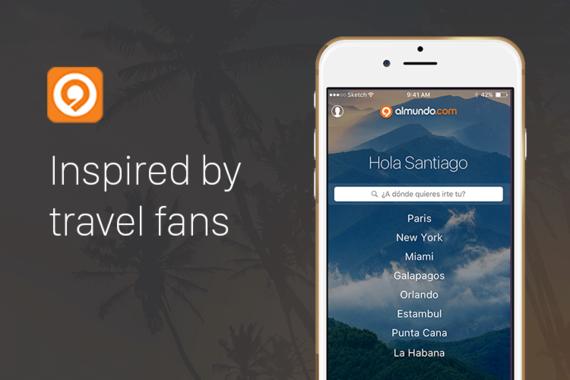 Almundo.com Mobile Application UX Design