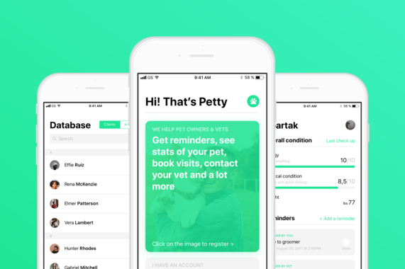 Petty | Pet Health Tracker For Vets And Pet Owners