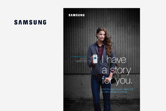 Samsung Interactive Posters
