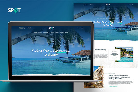 SPOT Website Design