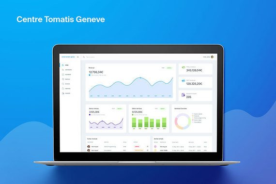 Centre Tomatis Geneve Personal Web Application Design