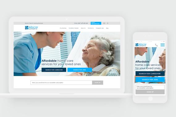 Abcor.com | UX/UI and Responsive Web Design