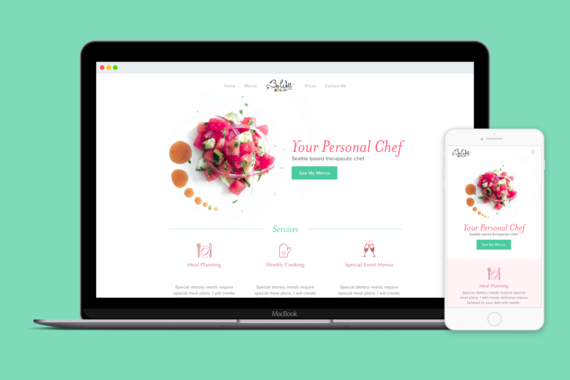 Personal Chef Booking