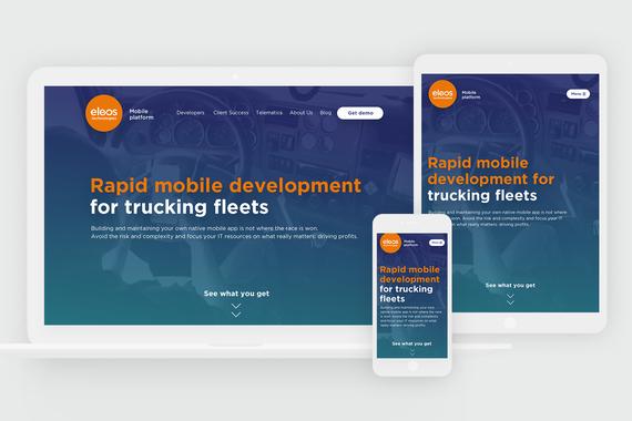 Eleostech.com | UX/UI and Responsive Web Design