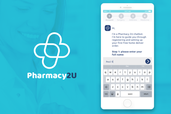 Pharmacy 2U Onboarding Chatbot and Brand Development