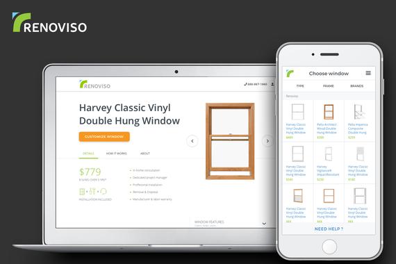 RENOVISO | UI/UX eCommerce—2017