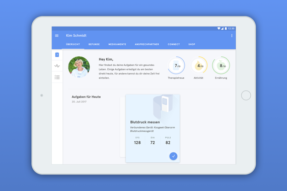 Health Manager Prototype