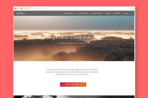 Lytro | Site Design & Branding