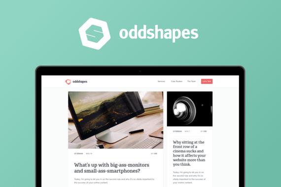 Oddshapes Website
