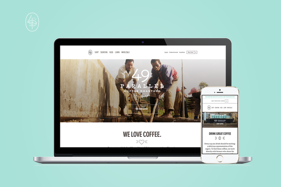 49th Parallel | Shopify eCommerce Store