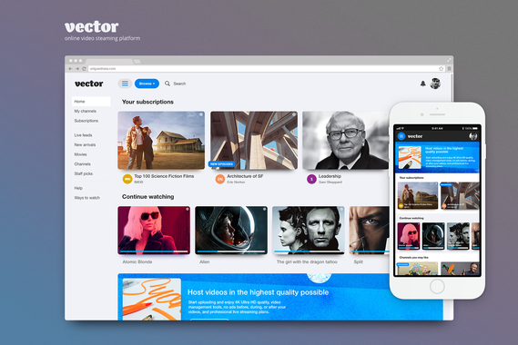 Vector | Online Video Streaming