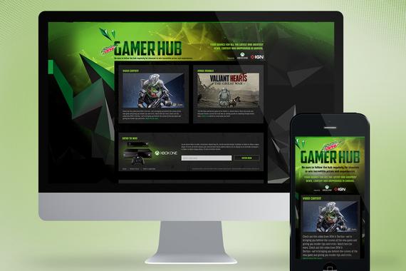 Mountain Dew - Gamer Hub