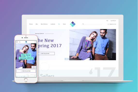 eCommerce Fashion Website