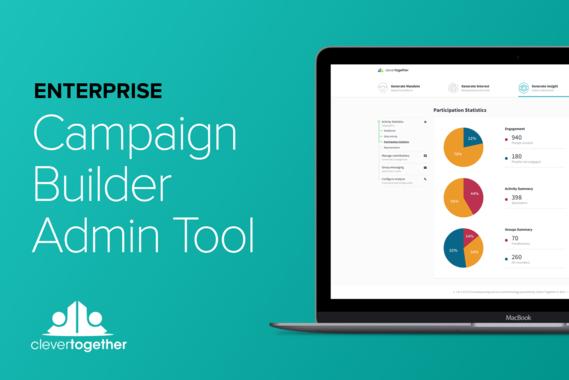 Enterprise SaaS Crowdsourcing Campaign Builder | Web UX and UI