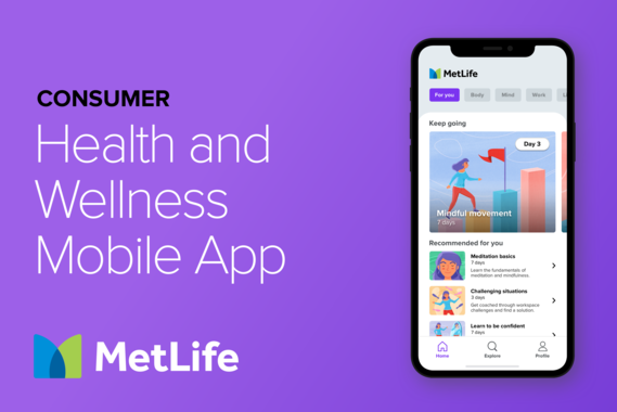 B2C Health and Wellness App | Mobile UX and UI