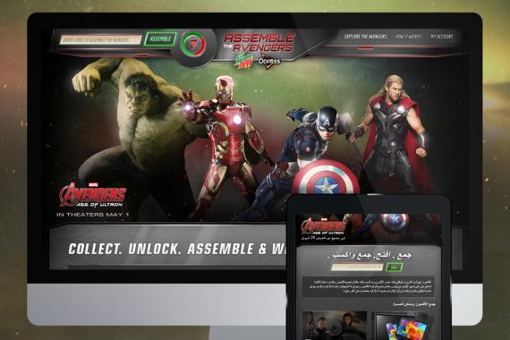 Mountain Dew - Assemble the Avengers