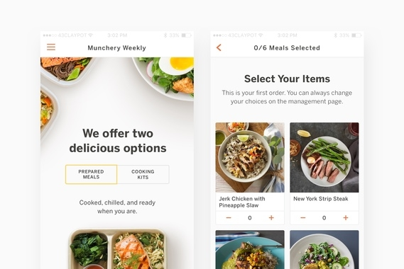 Munchery Mobile Products