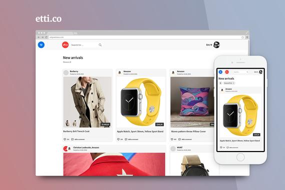 Etti.co | eCommerce Website