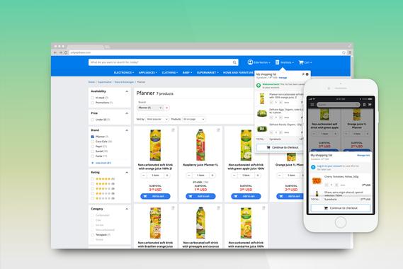 Shopping List | eCommerce Website